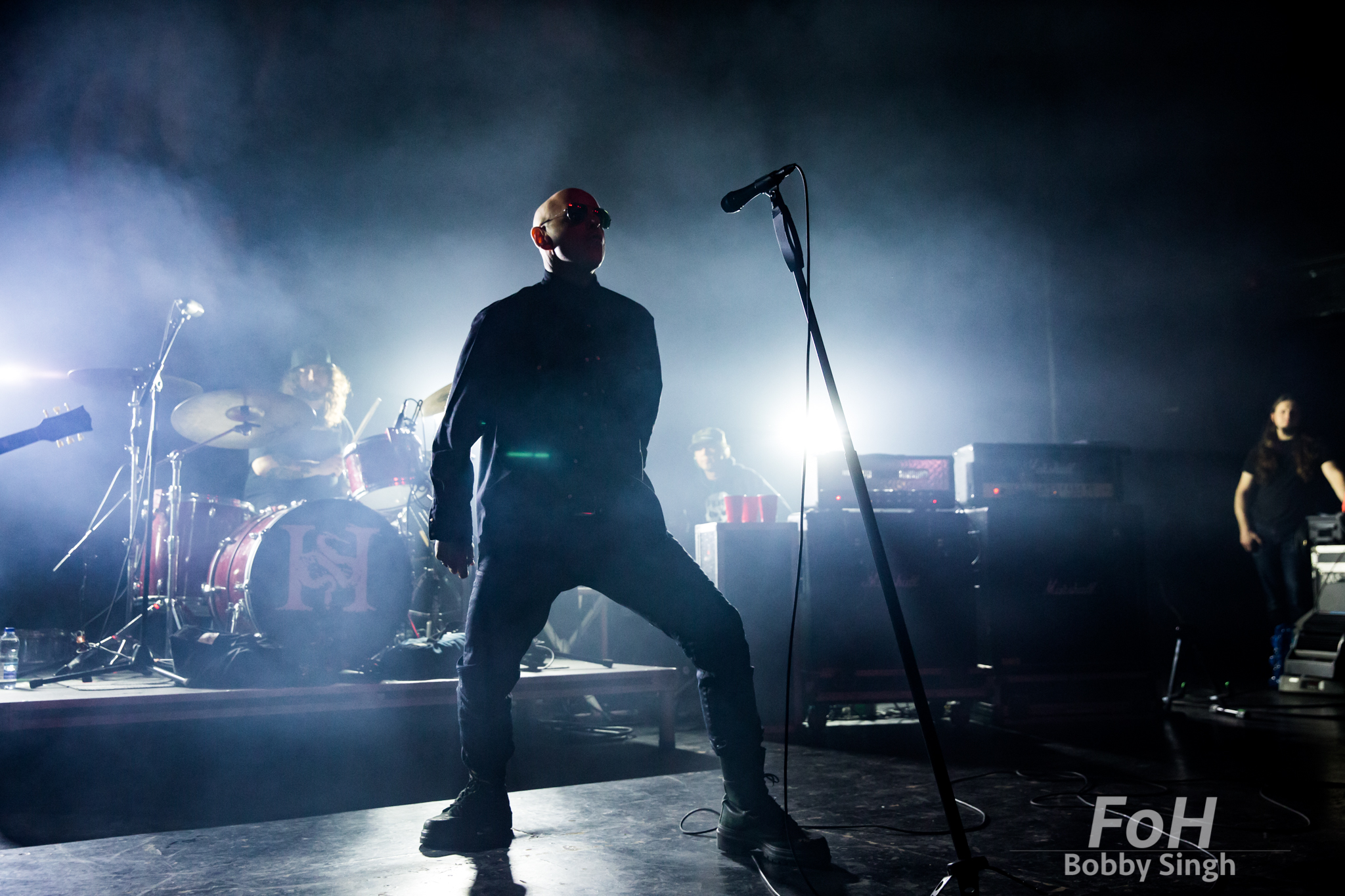 The Headstones. Toronto. Dec 22nd 2018. Photo by Bobby Singh/ @fohphoto