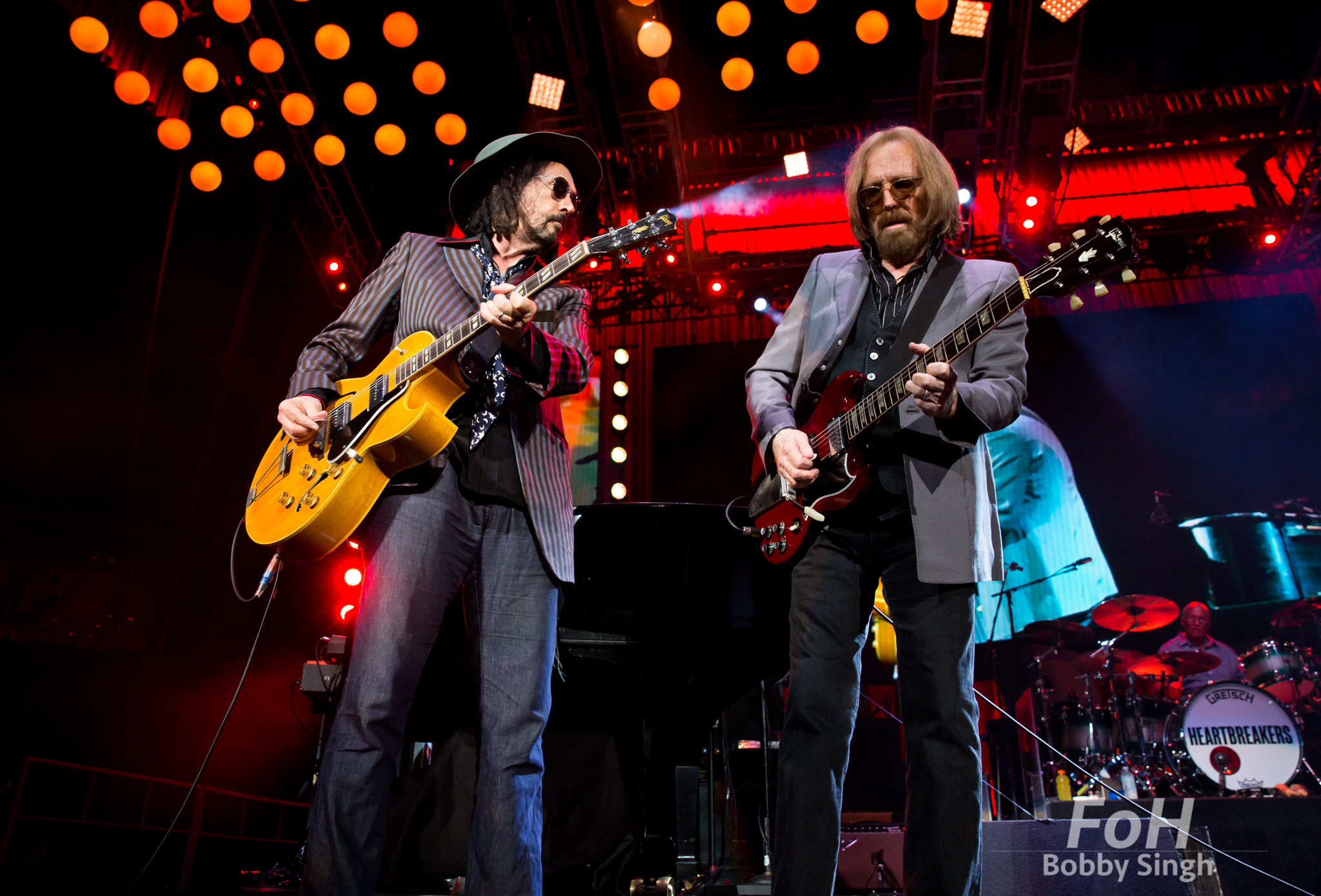 Tom Petty performing in Toronto with The Heartbreakers in 2017.