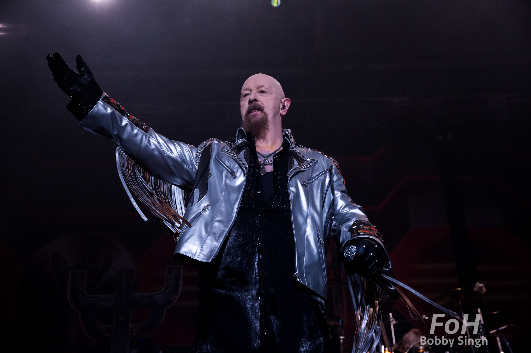 Judas Priest Firepower tour at Tribute Communities Centre., Oshawa CANADA.