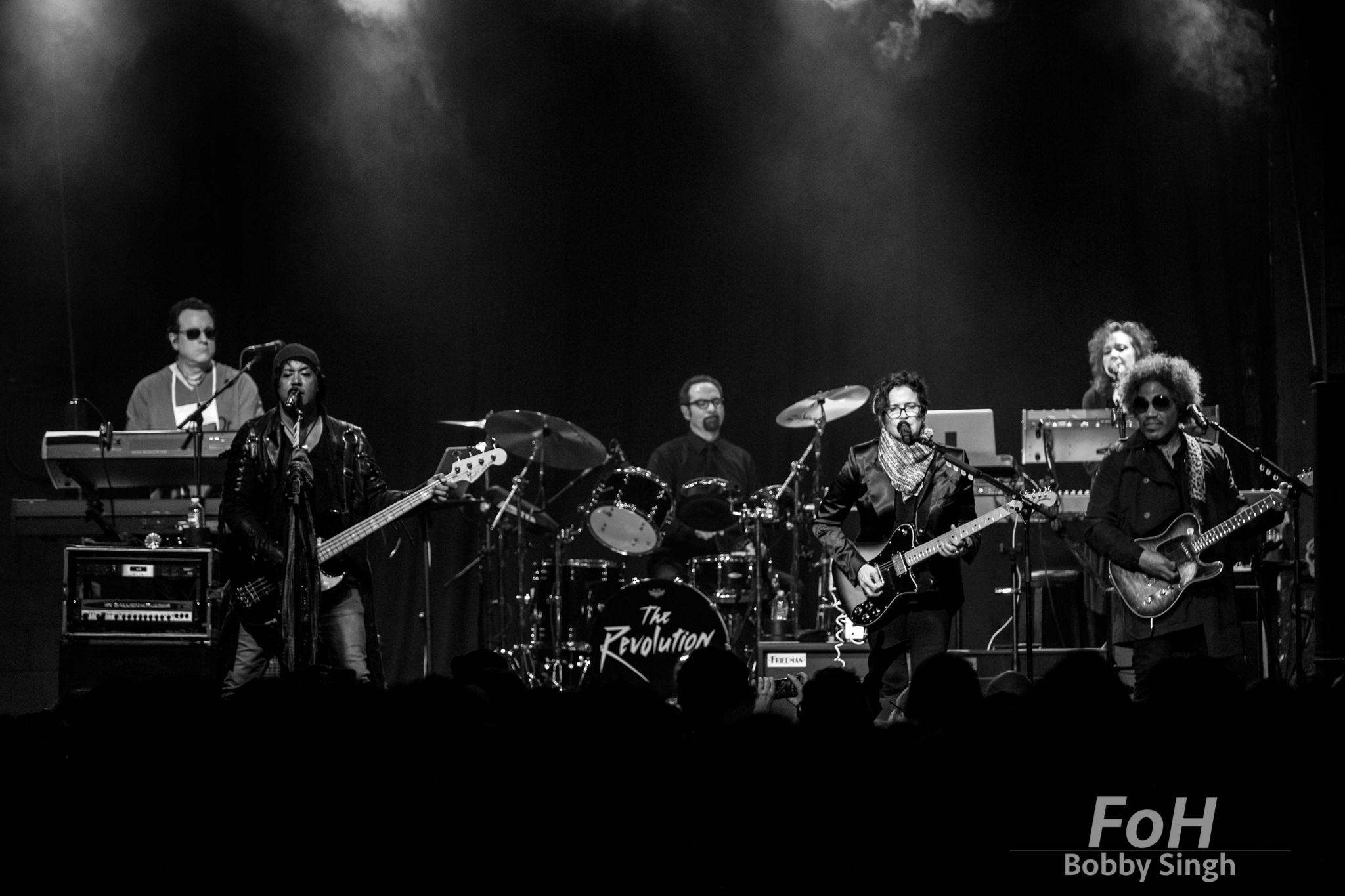 The Revolution, Prince's 80's backing band perform at The Phoenix Concert Theatre in Toronto, Canada
