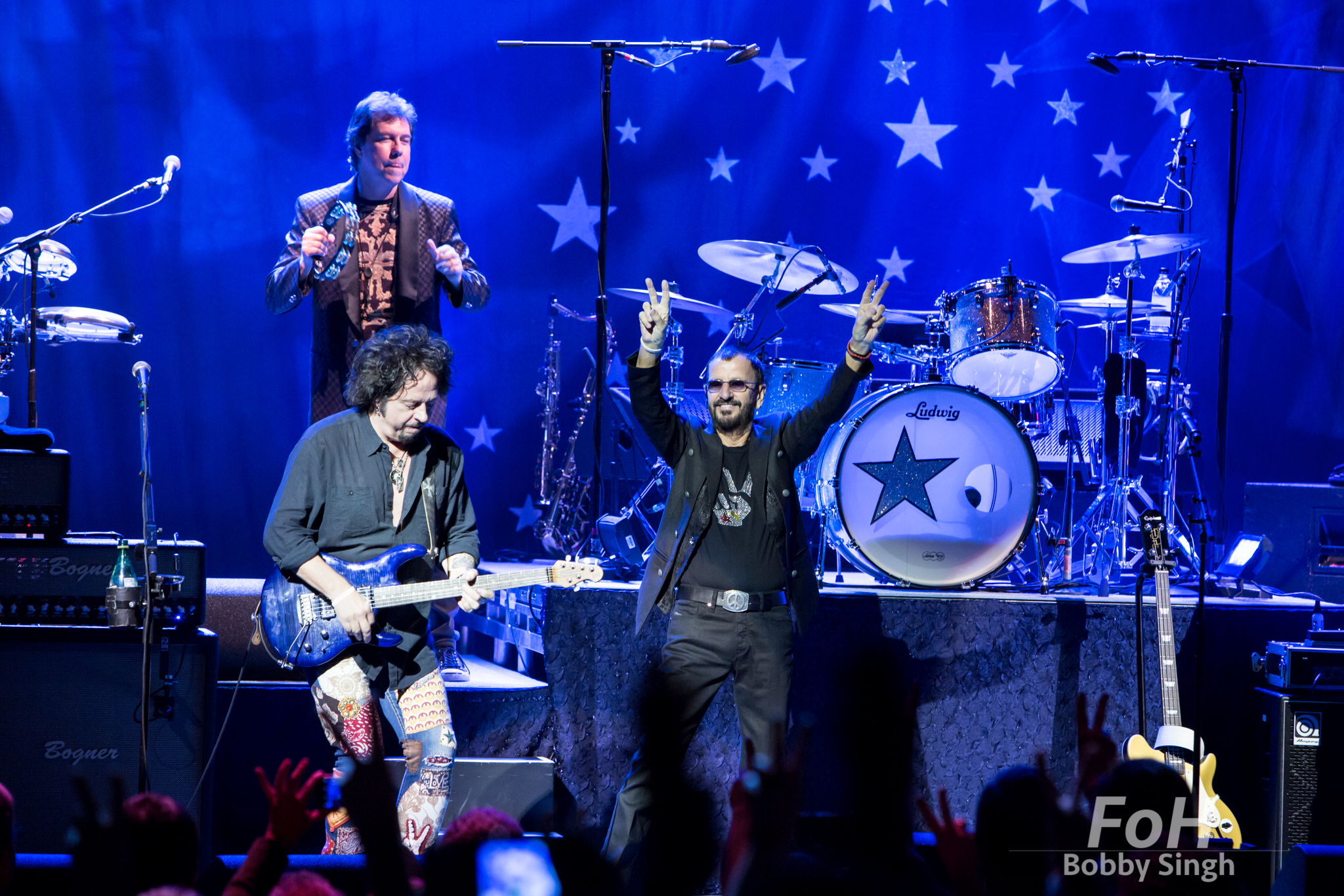 Ringo Starr performs at Massey Hall in Toronto