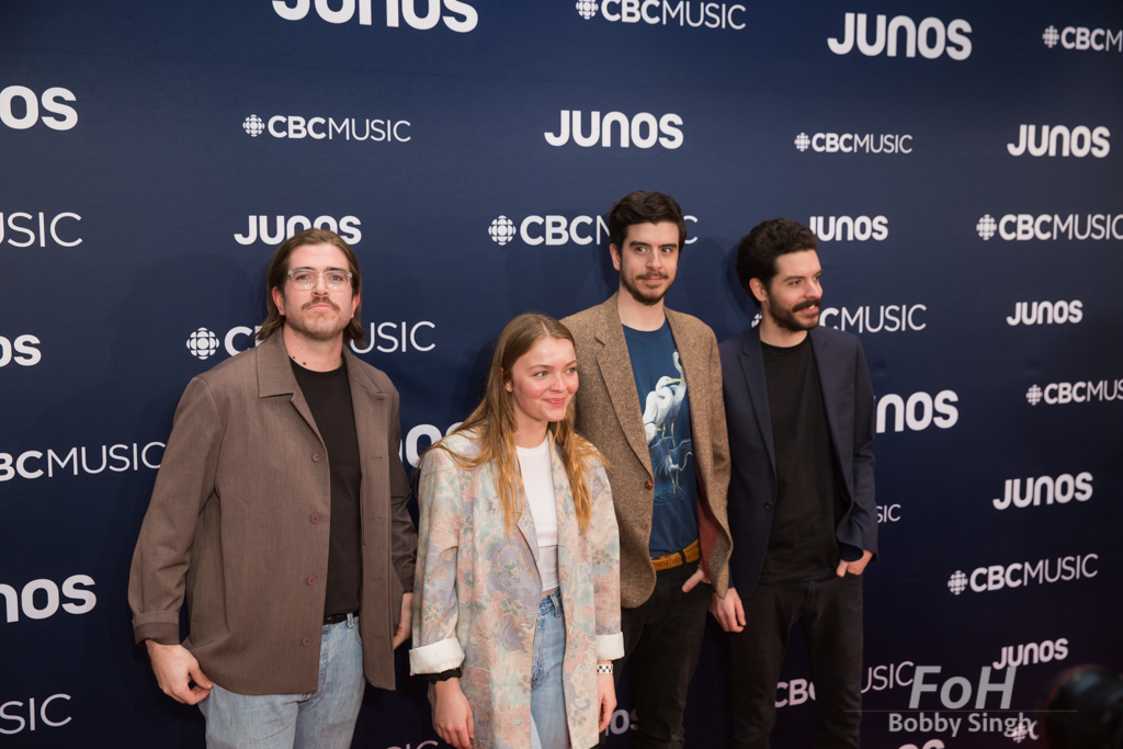 Dizzy on the 2019 JUNO Awards red carpet at Budweiser Gardens, in London, Ontario, CANADA