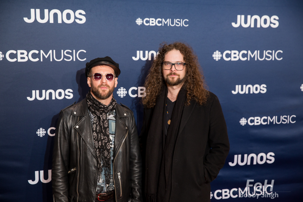 Monster Truck on the 2019 JUNO Awards red carpet at Budweiser Gardens, in London, Ontario, CANADA
