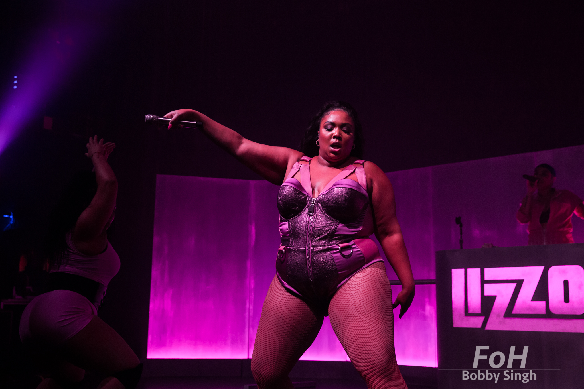 American rapper Lizzo performs at Danforth Music Hall in Toronto, CANADA.