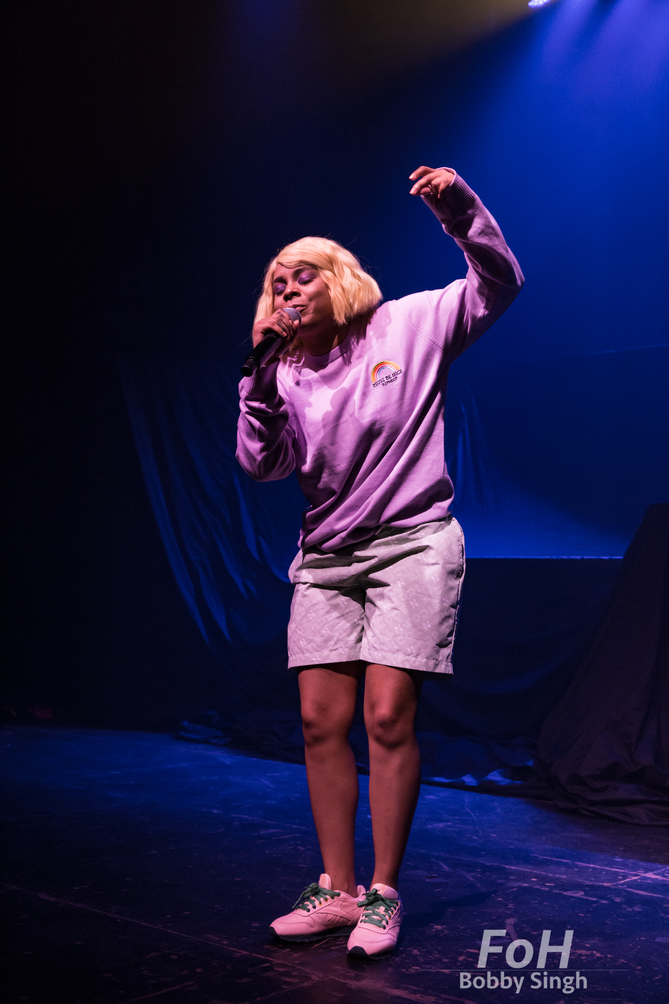 Tayla Parx performs at Danforth Music Hall in Toronto, CANADA.