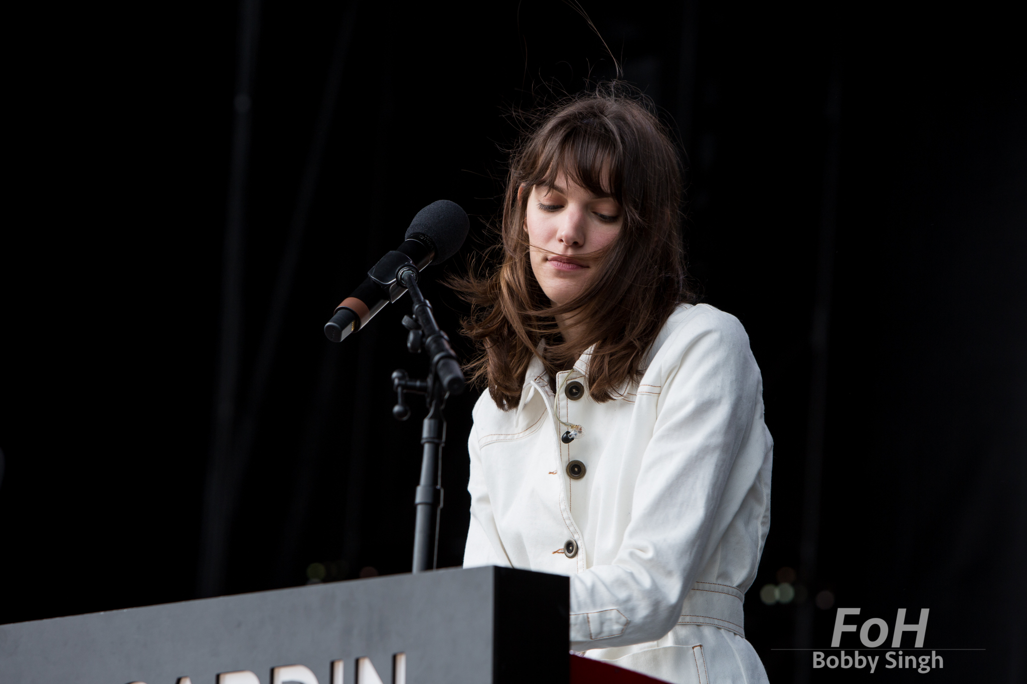 Charlotte Cardin performs at CBC Music Fest in Toronto, CANADA