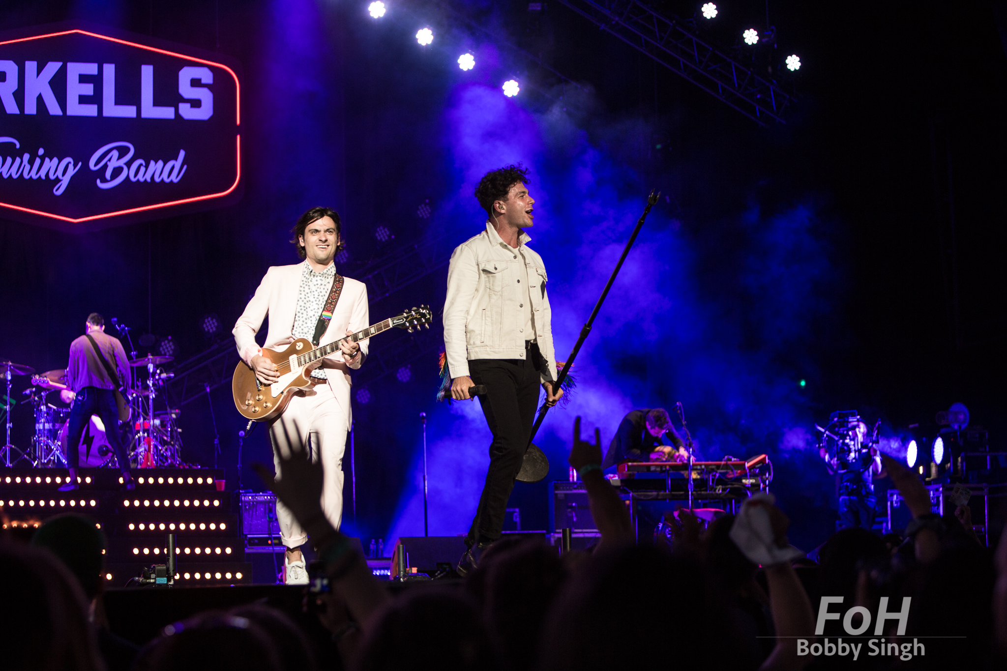 Arkells - Mike DeAngelis and Max Kerman
