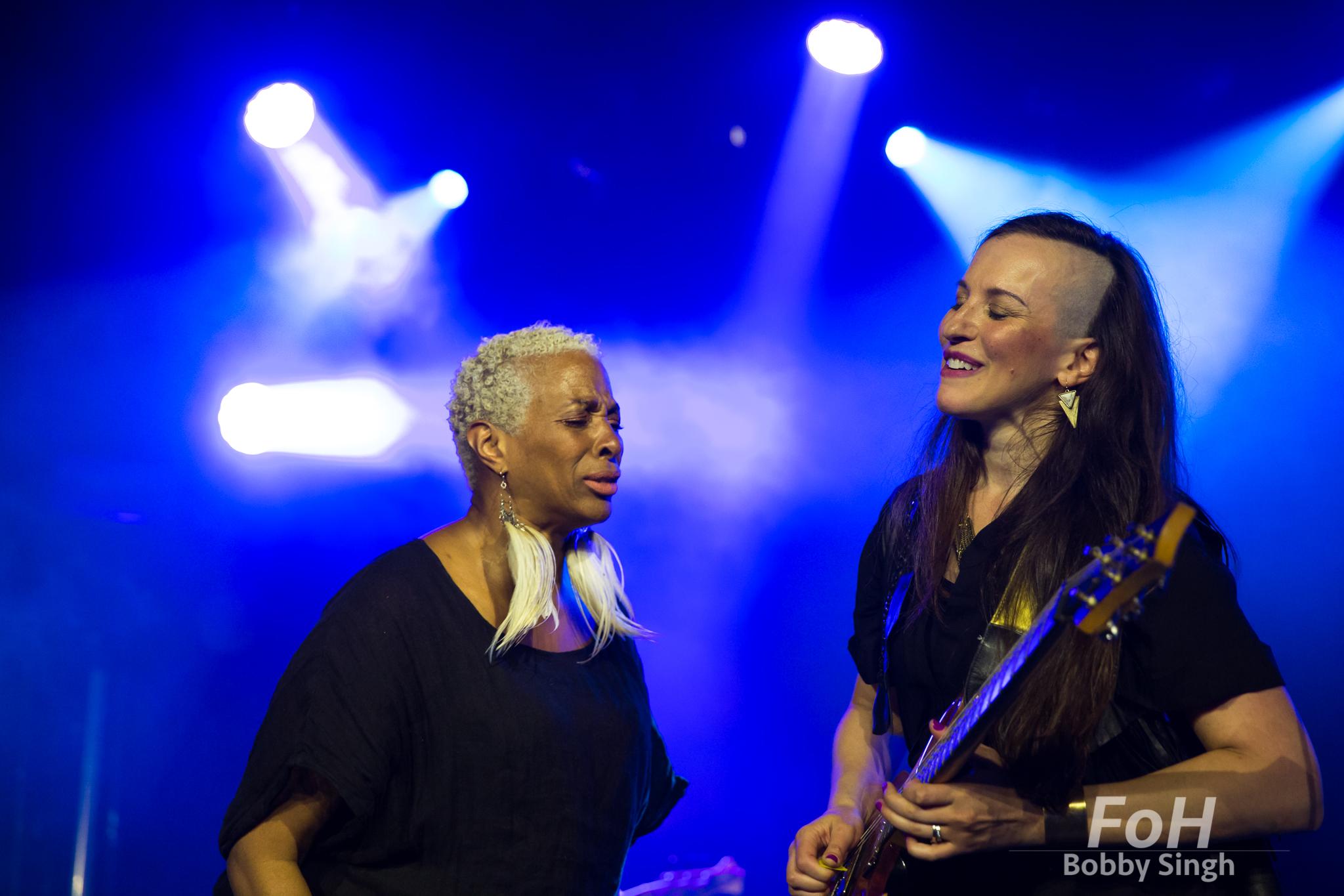 Shakura S'Aida and Donna Grantis