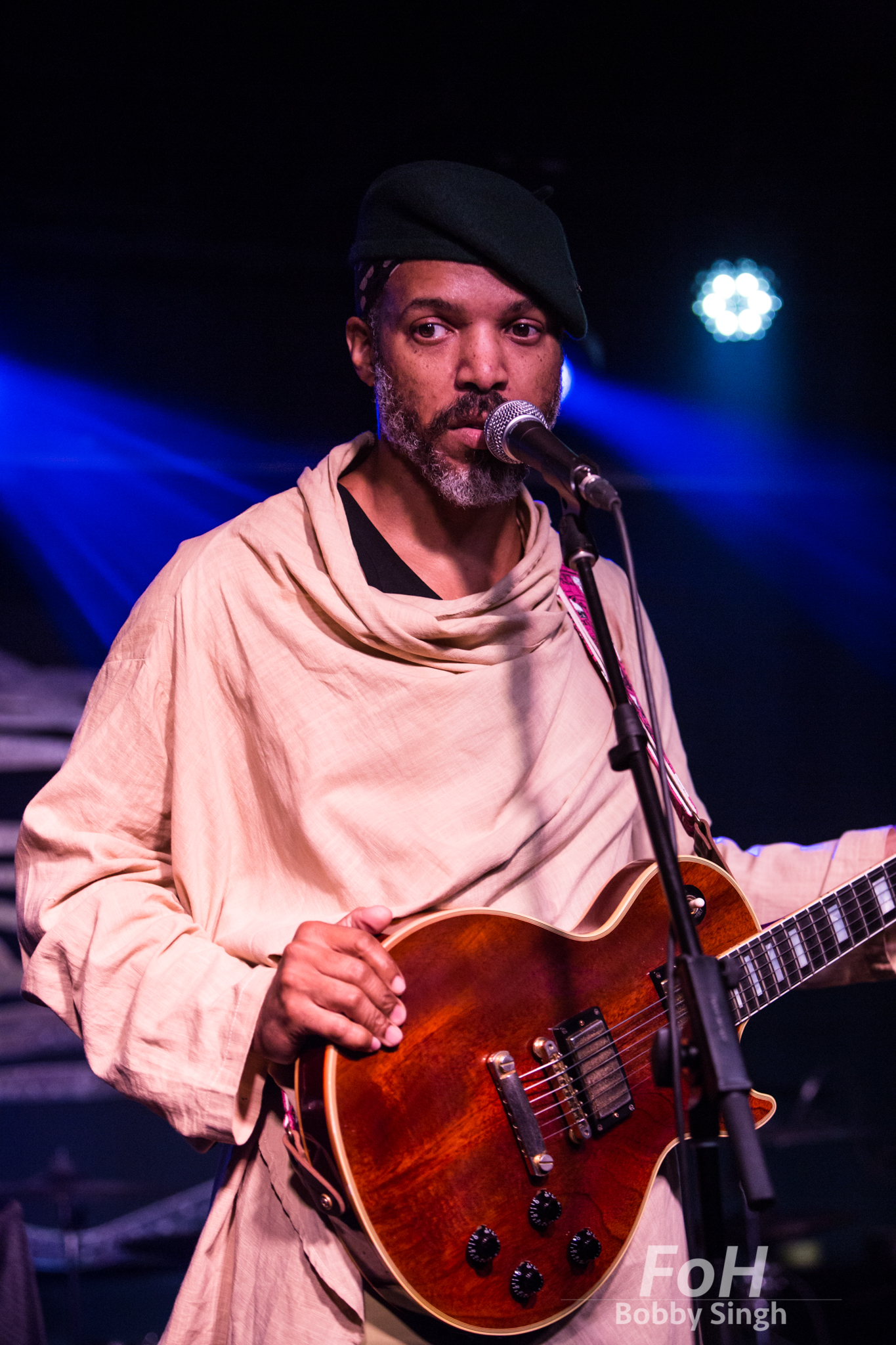 Van Hunt performs at the Drake Hotel in toronto, CANADA