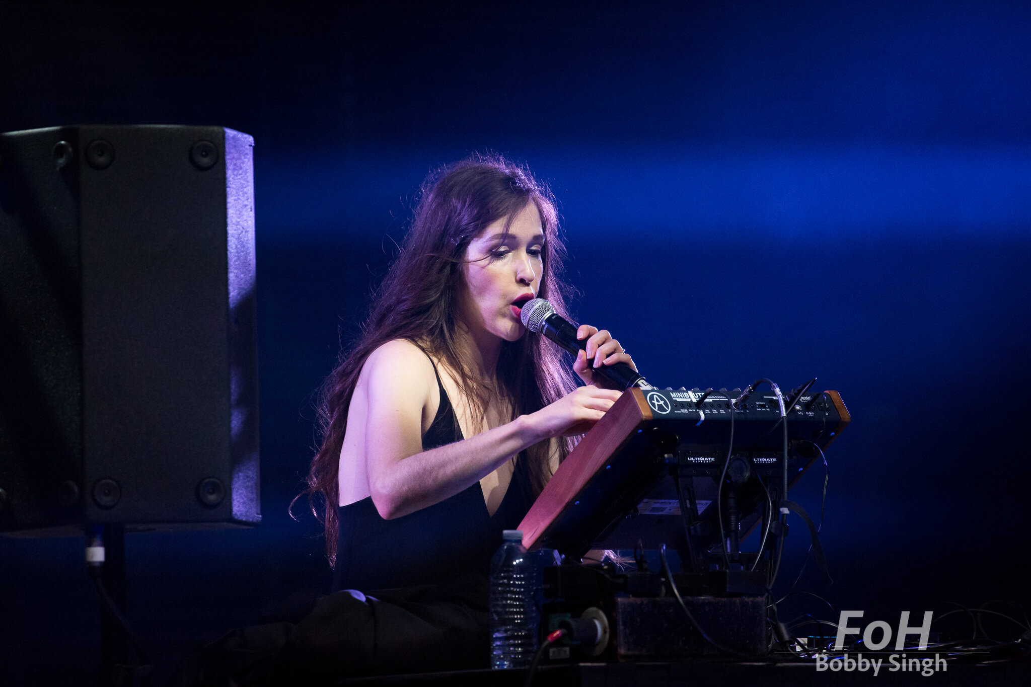 Marie Davidson performs at the 2019 Polaris Music Prize Gala