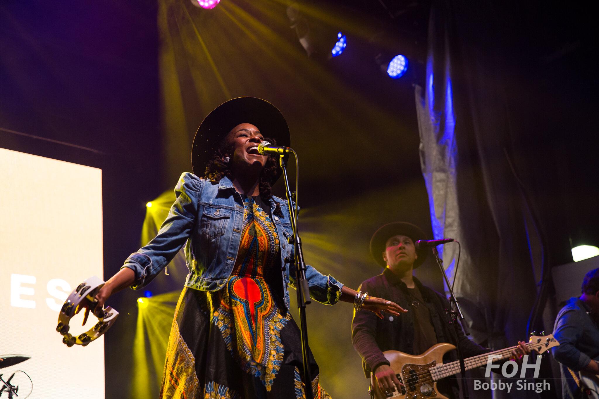 Tanika Charles & The Wonderfuls performing at Supercrawl in Hamilton