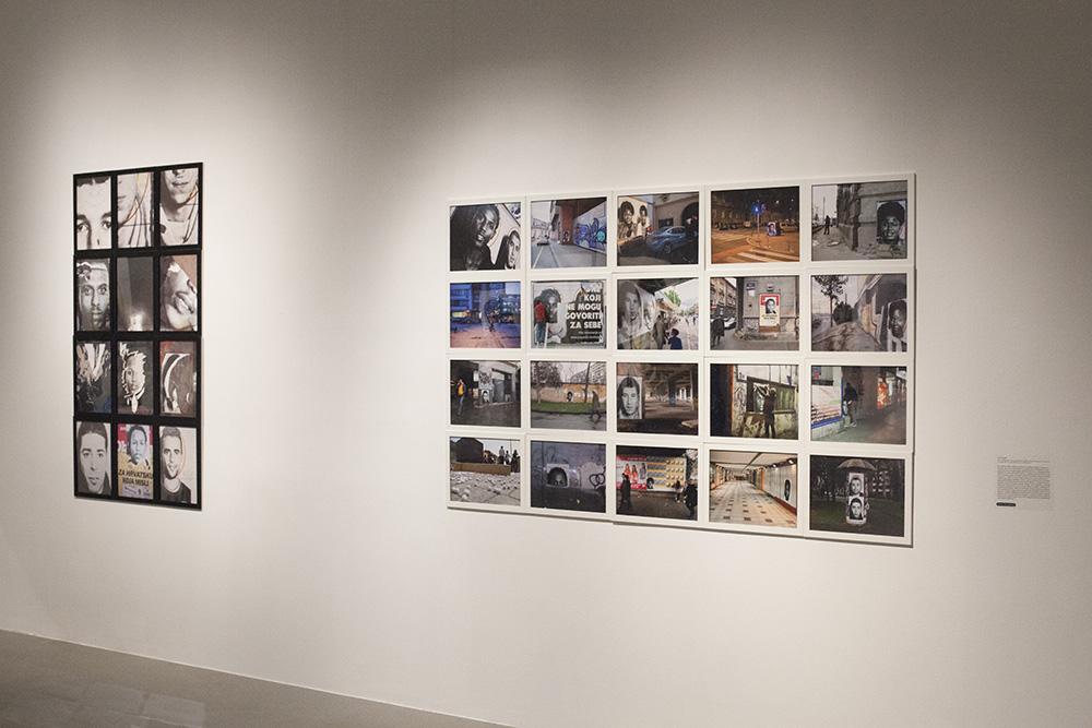 Photographic Installation @ Museum of Contemporary Art, Zagreb, Croatia