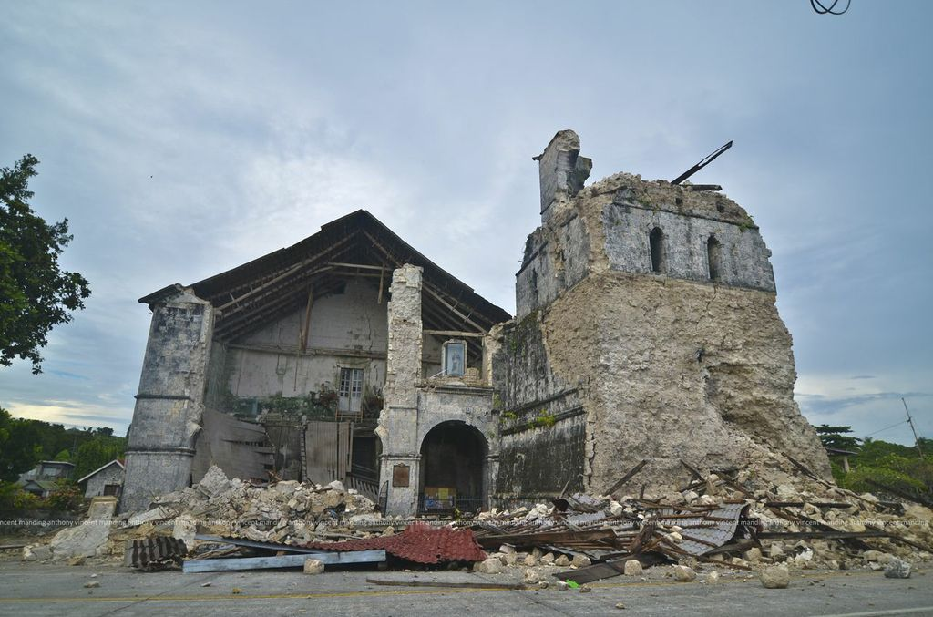 Baclayon Church – After
