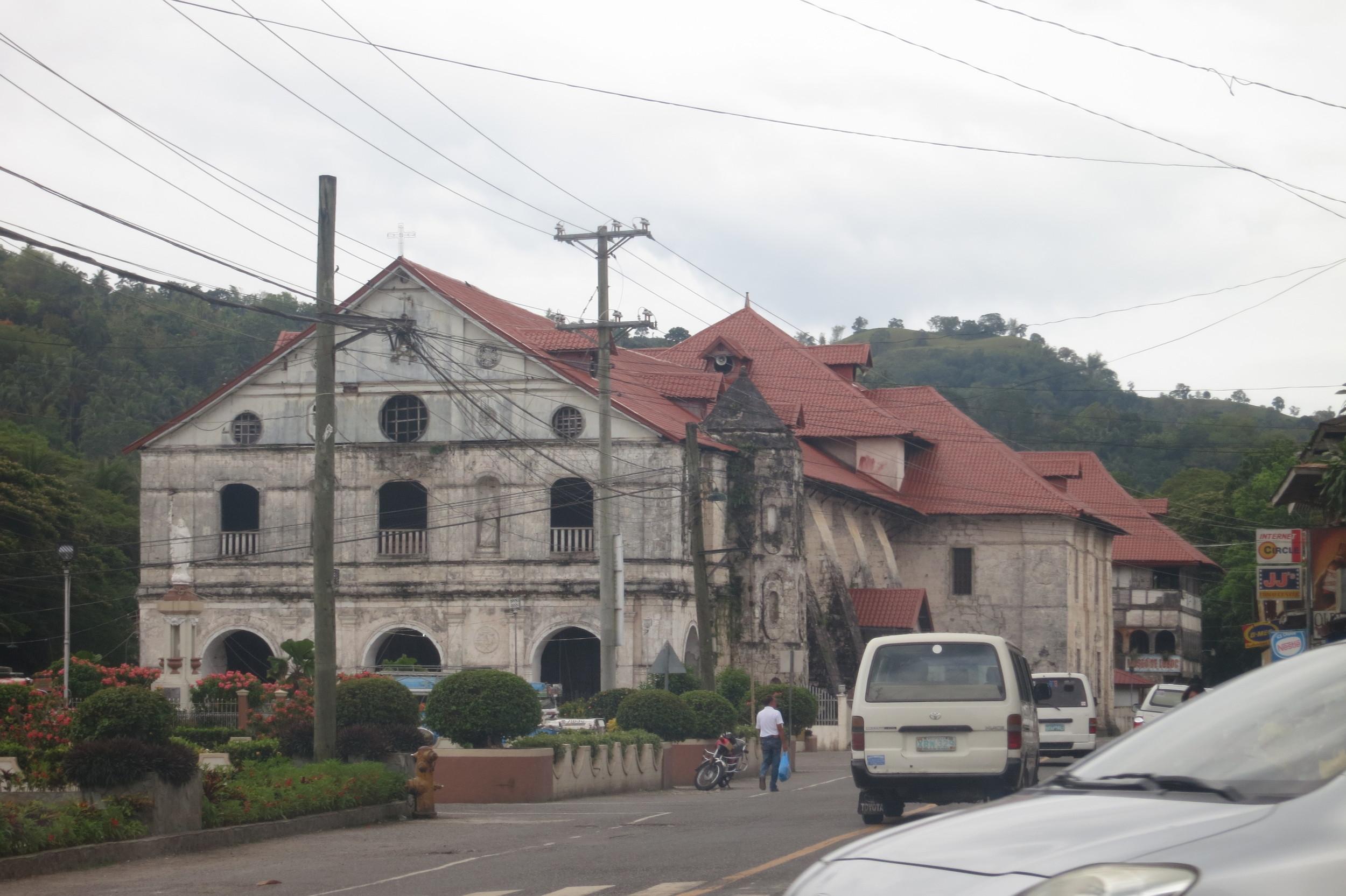 Loboc Church – Before