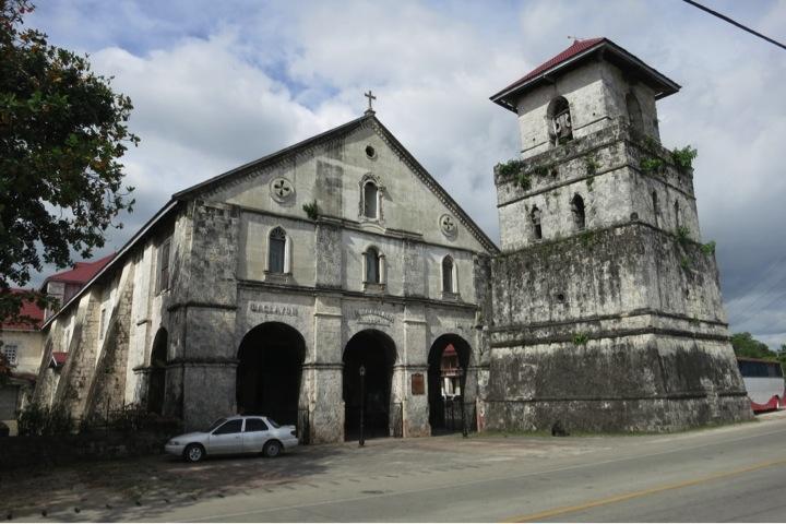 Baclayon Church – Before