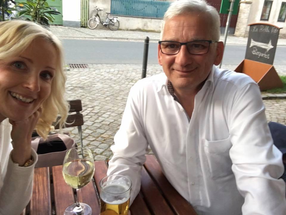 Zukunftspläne schmieden mit Sandra Pietzschmann von der Capello Lounge aus Dresden  https://www.facebook.com/www.facbook.comCapelloLounge/ im schönen Radebeul. Die nächsten Projekte sind bereits in der Pipeline......Mehr News in Kürze.