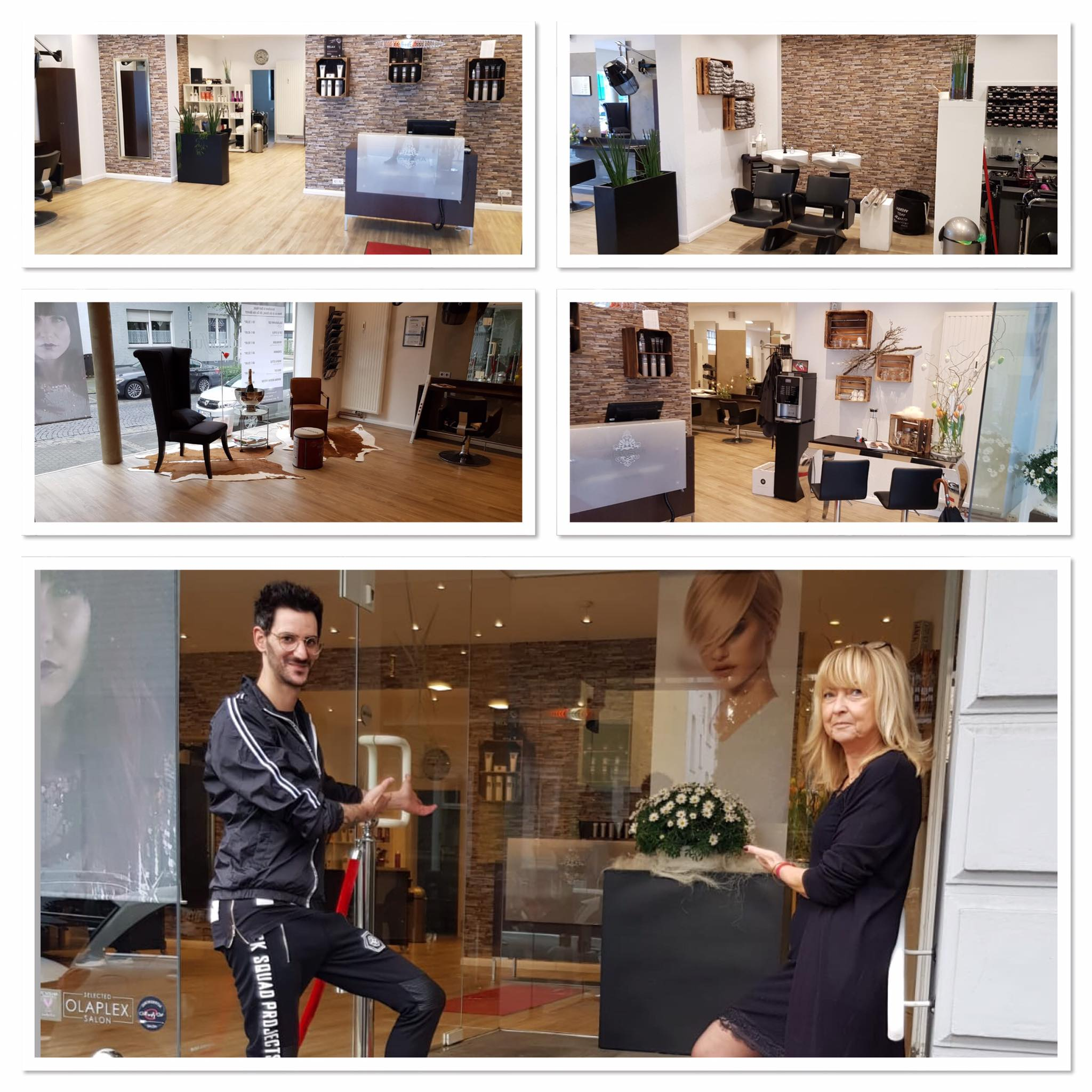 """Gratulation an Petra Peffer und Raffael Bianchi von """"Peffer & Bianchi Friseure"""" https://www.instagram.com/petrapeffer_intercoiffure/ aus Solingen/Ohligs zur fertigen Salonmodernisierung👍Es ist sehr schön geworden und ich wünsche beiden Inhabern und dem ganzen Team viel Erfolg🍀Das Feedback der Kunden ist sehr positiv! Täglich neue News und Infos findet Ihr auch auf meiner Instagram Page https://www.instagram.com/kukuck_marketingberater/"""