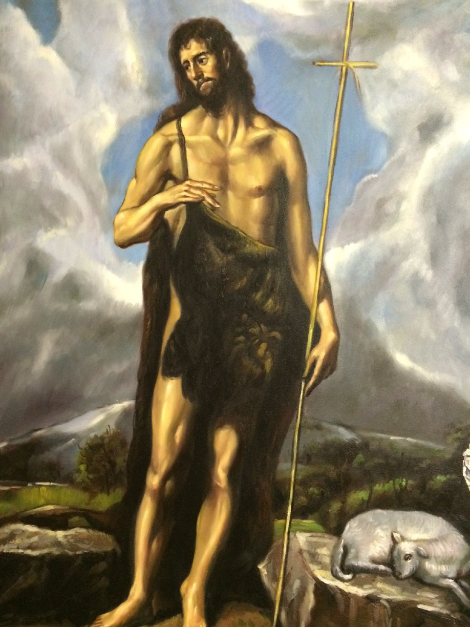 St. Francis Painting