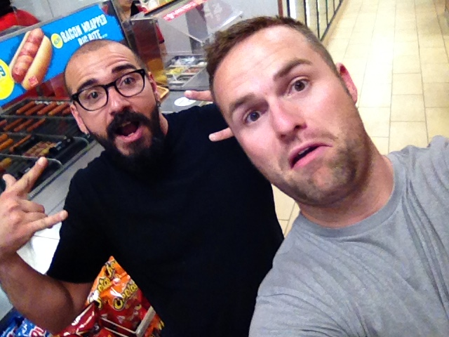 Shoutout today goes to Chase and Travis keeping it classy at a Denver gas station. Nice to know both of you haven't died yet.