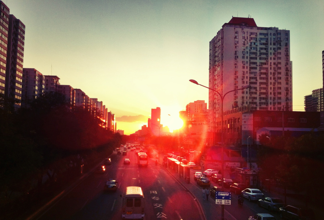 My favorite part of the day in Beijing