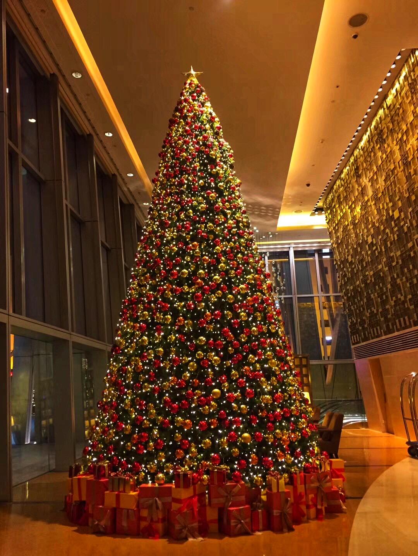 Christmas tree in Beijing