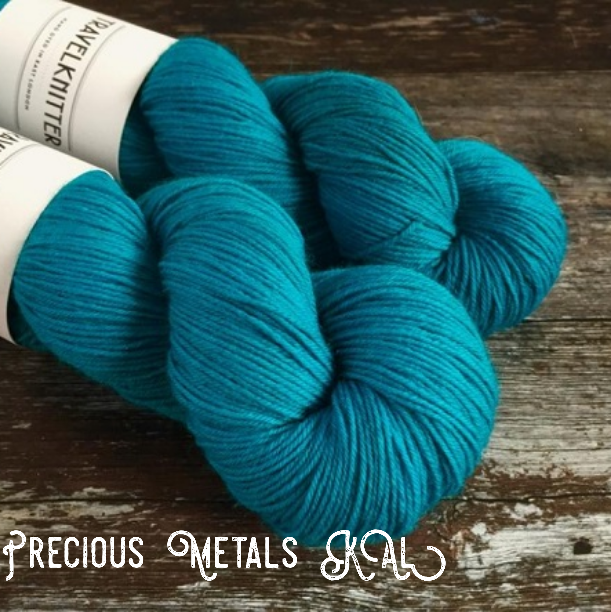 Precious Metals Socks KAL