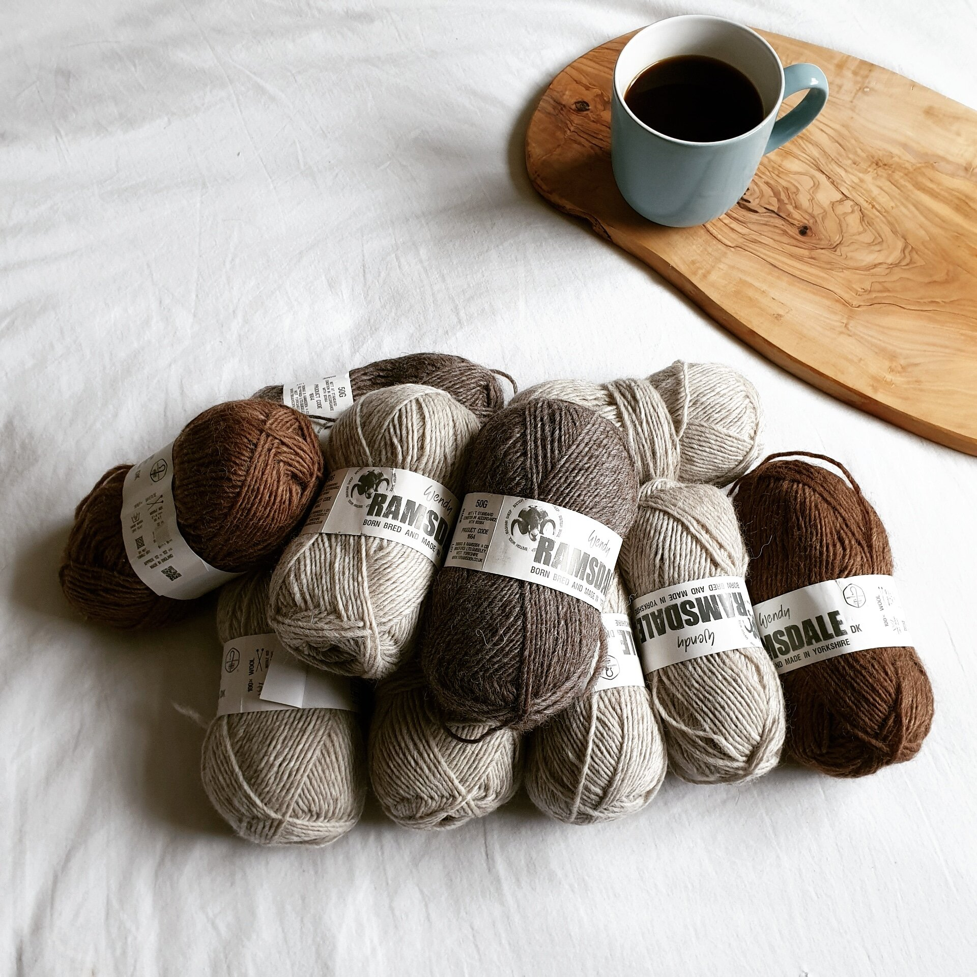 A woolly pile of potential. 1000m Wendy Ramsdale wool