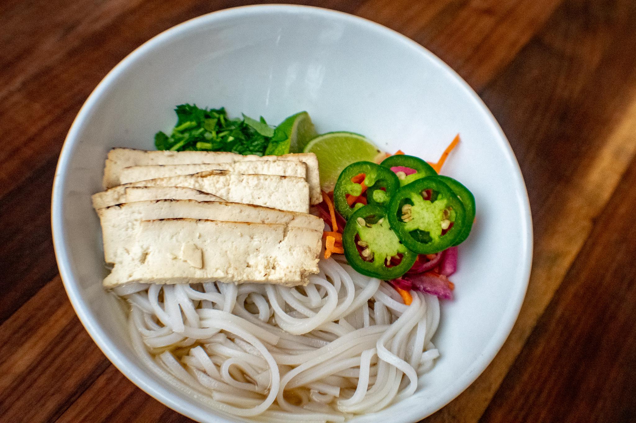 Vegetarian Tofu Phở