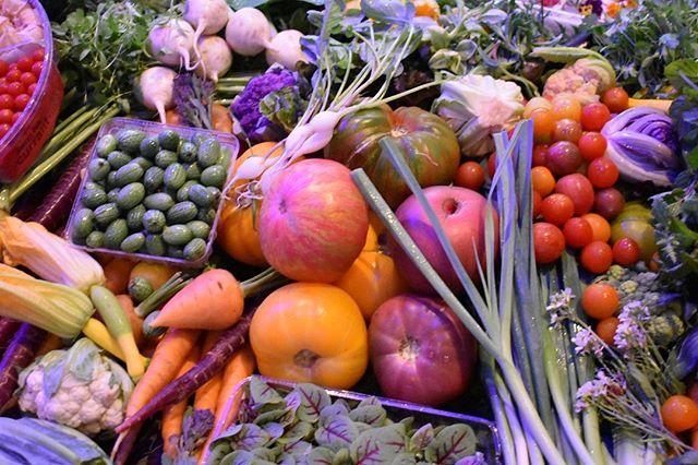 Beautiful produce from @farmerleejones #thechefsgarden #acfnatcon #acfchefs #produce #sustainability