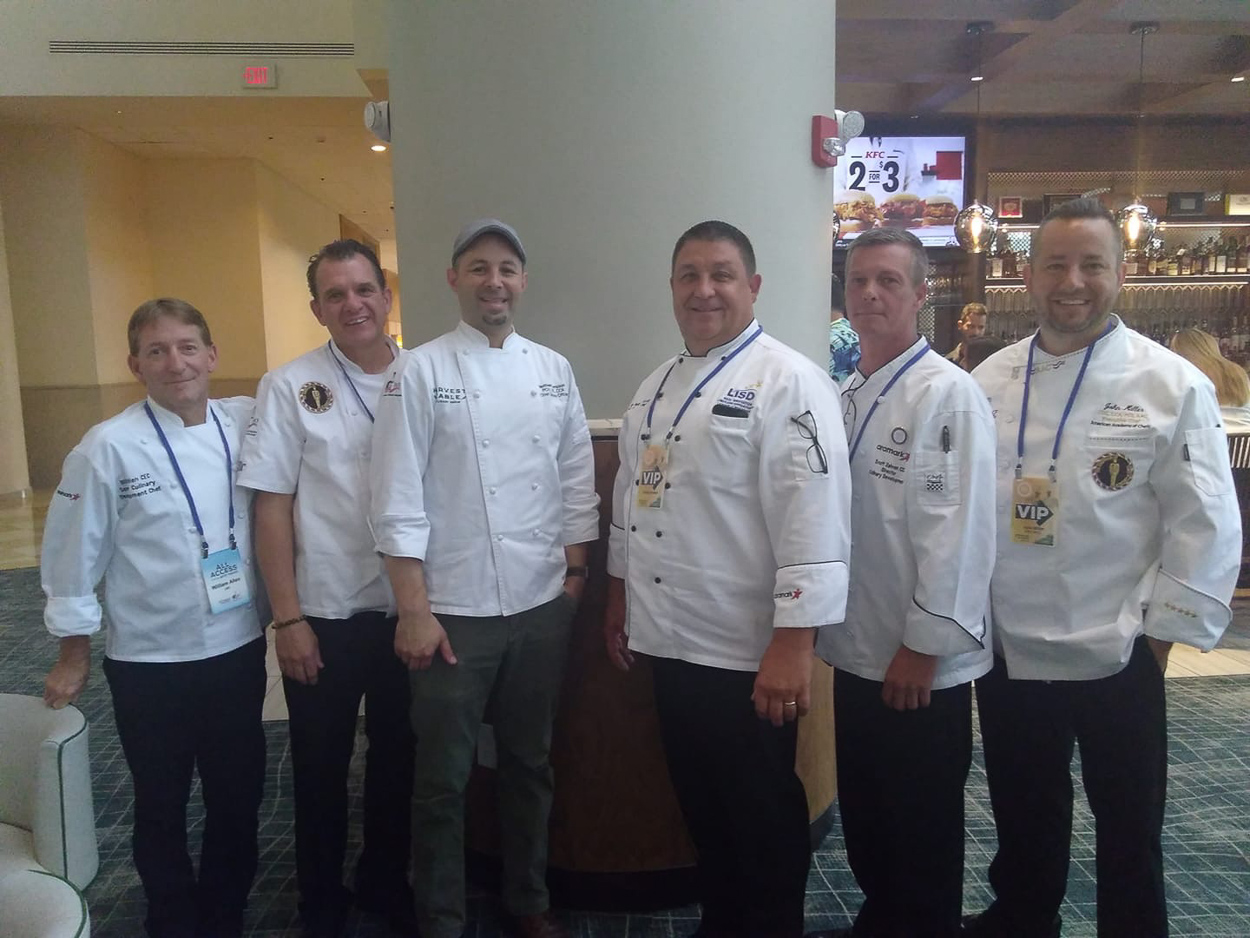 Aramark chef representation at the 2019 ACF National Convention