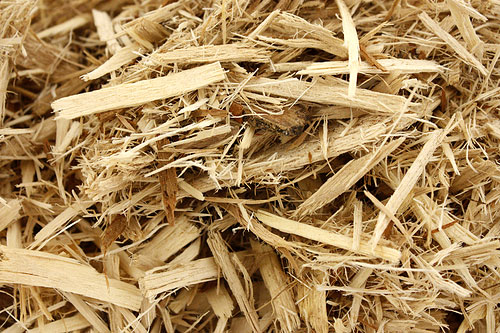 Premium Hardwood Mulch - Wood mulch placed around plantings provide ground insulation and landscape appeal.
