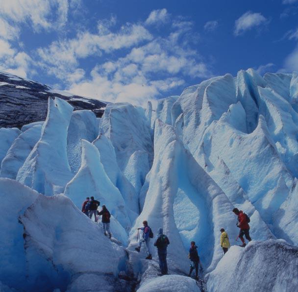 Brevandring Glacier Ned Gard