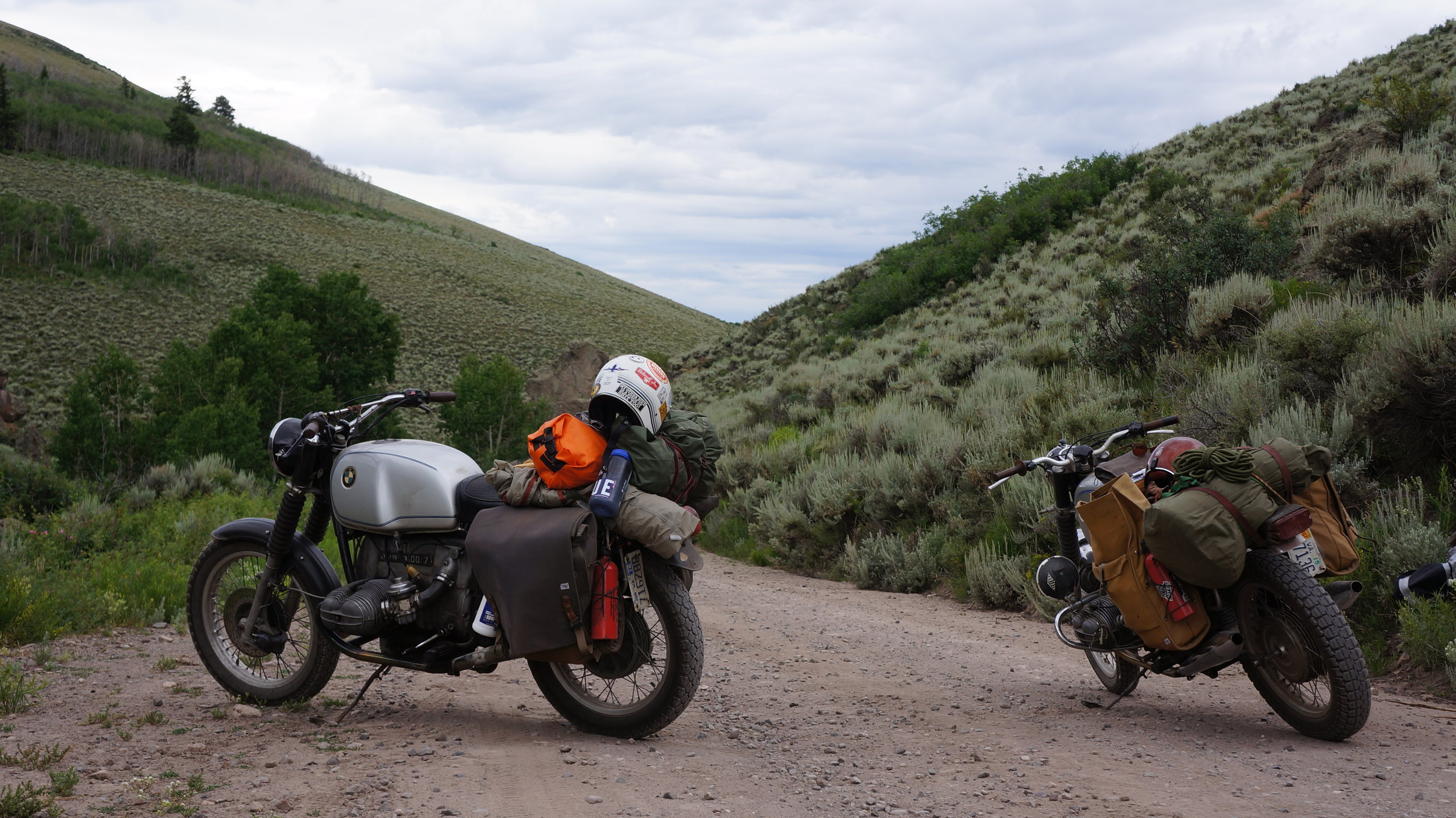 Exploring some dirt roads near the Blue Mesa resevoir in CO.
