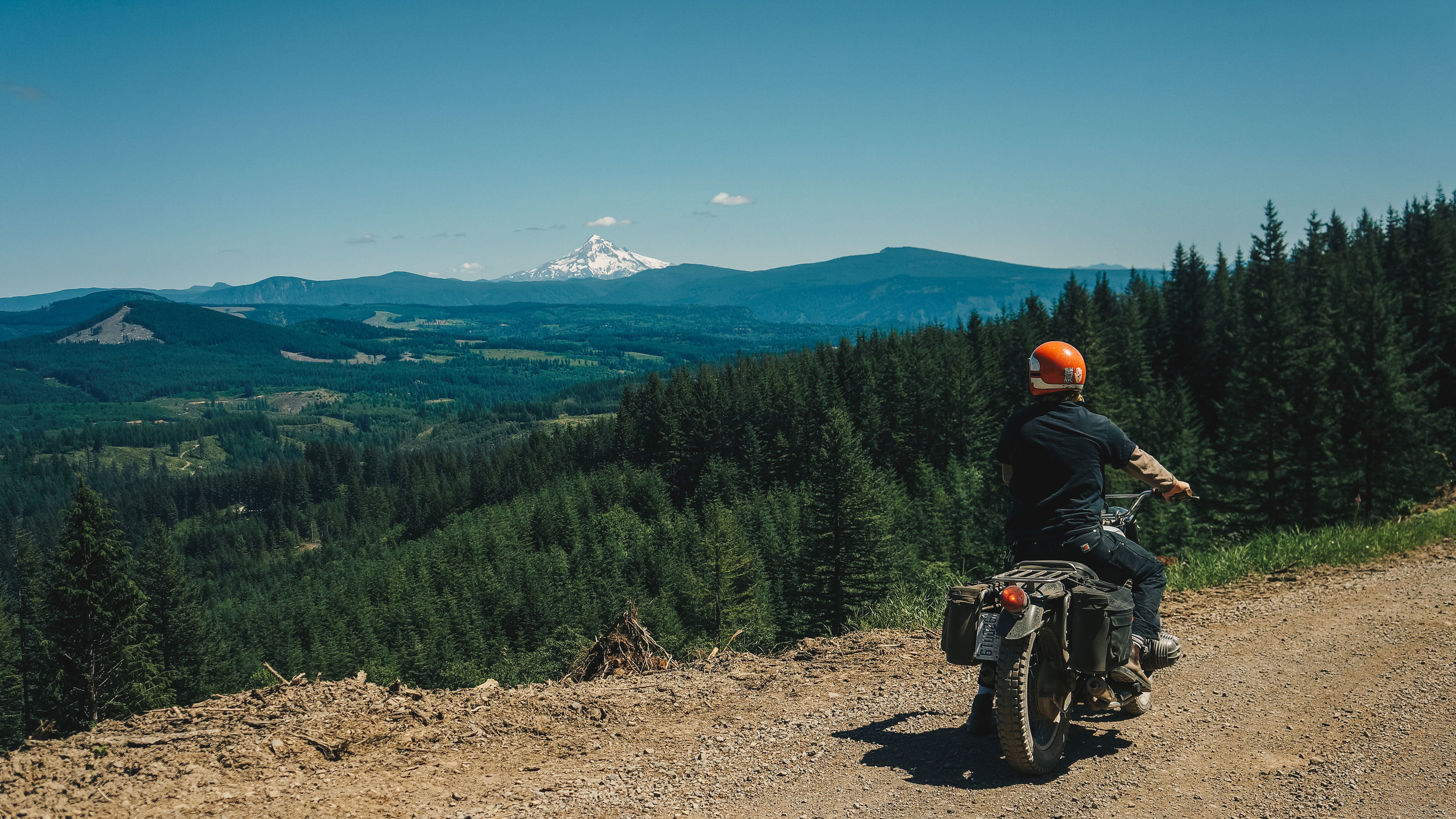 Mt. Hood in the distance