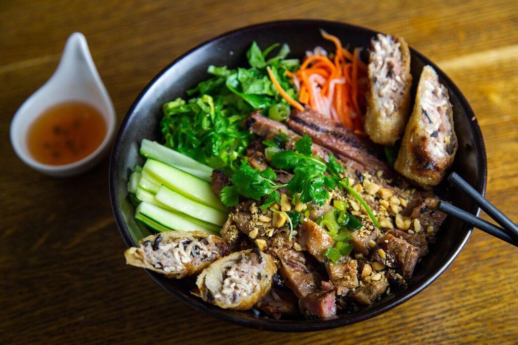 Hell's Kitchen Pho  Banh Mi