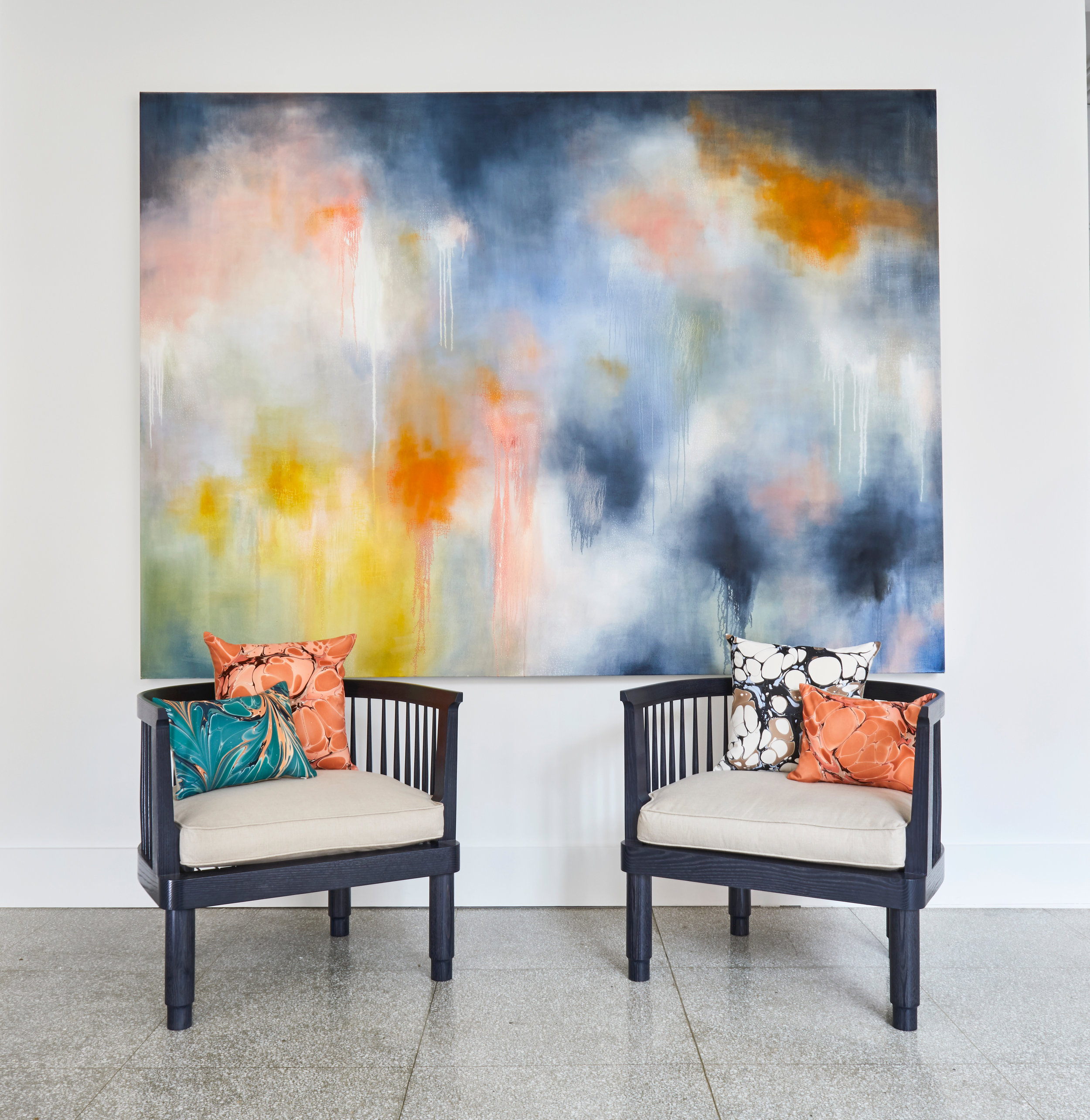 Phaedon's Desire at Salon Design 126 Charles Street Boston MA 02114 Through August 25 2019    Photo credit Angel Tucker