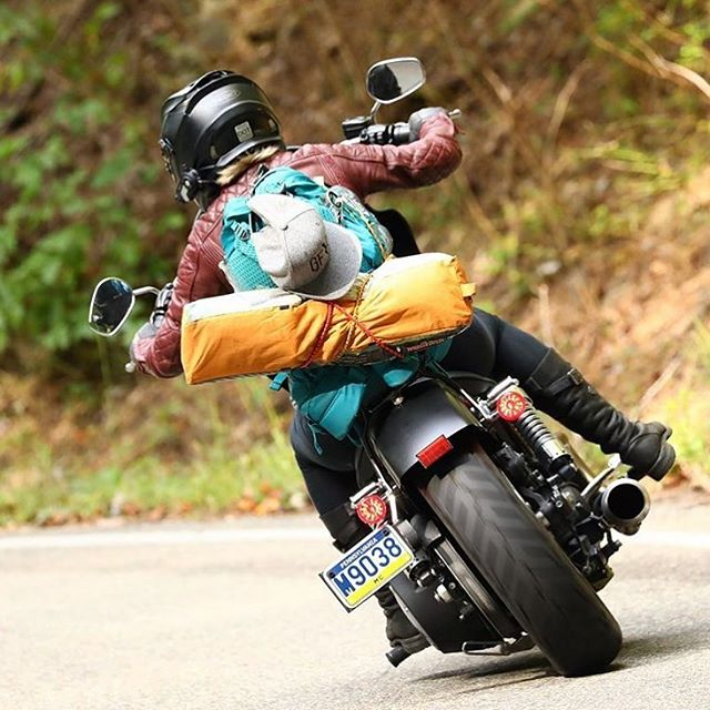 There will definitely be a lot of this this weekend. Ride safe, Ladies. Have a wonderful Memorial Day weekend!