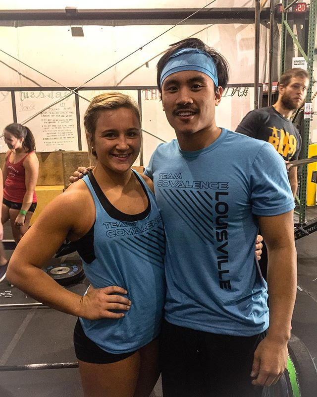 Congrats @alexamayfit & @jke3110 on your first Crossfit competition win! 🏆#winnerwinnerdonutwinner 🍩👏🏽💪🏽🏋🏽 @newcovcrossfit