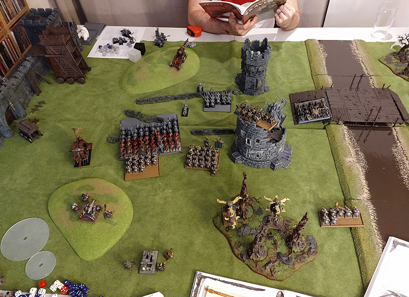 Warhammer Fantasy Battle Report: Dwarfs vs Skaven — LiveWaaaaagh