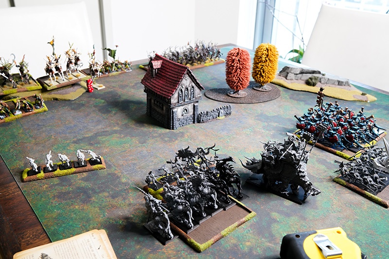warhammer-fantasy-battle-report-lizardmen-vs-wood-elves-turn-1-movement