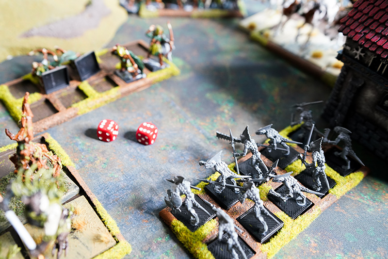 warhammer-fantasy-battle-report-lizardmen-vs-wood-elves-skinks-shoot