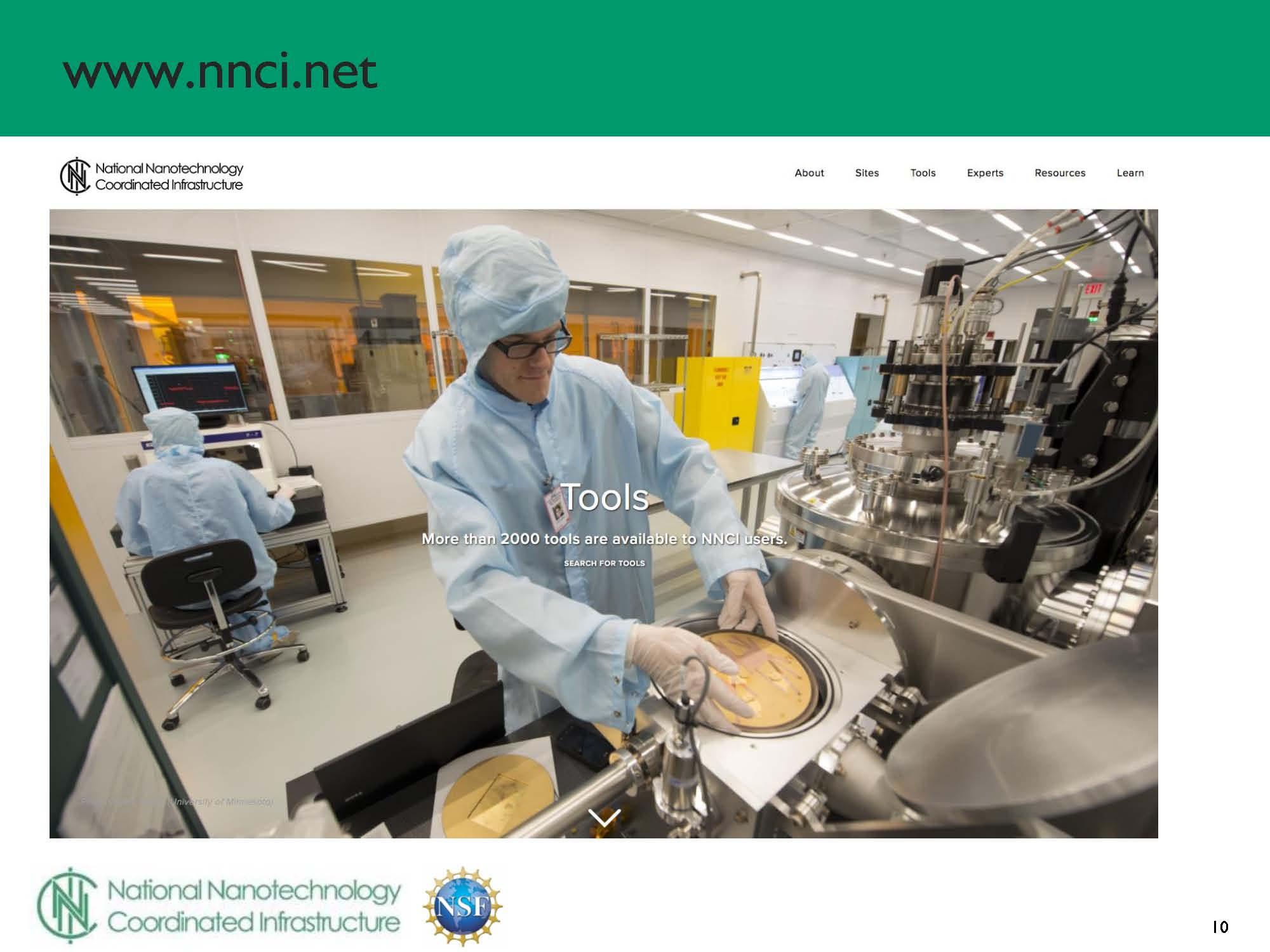 NSF 2017 NanoscienceGrantees Conf - NNCI presentation by Mark Allen_Page_10.jpg