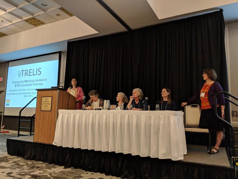 TRELIS Leaders presenting at UCGIS