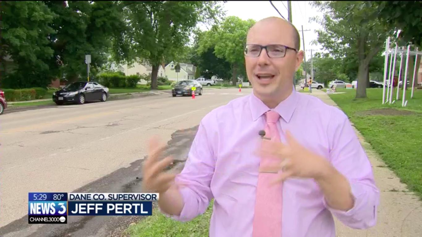 Supervisor Pertl interviewed on News3