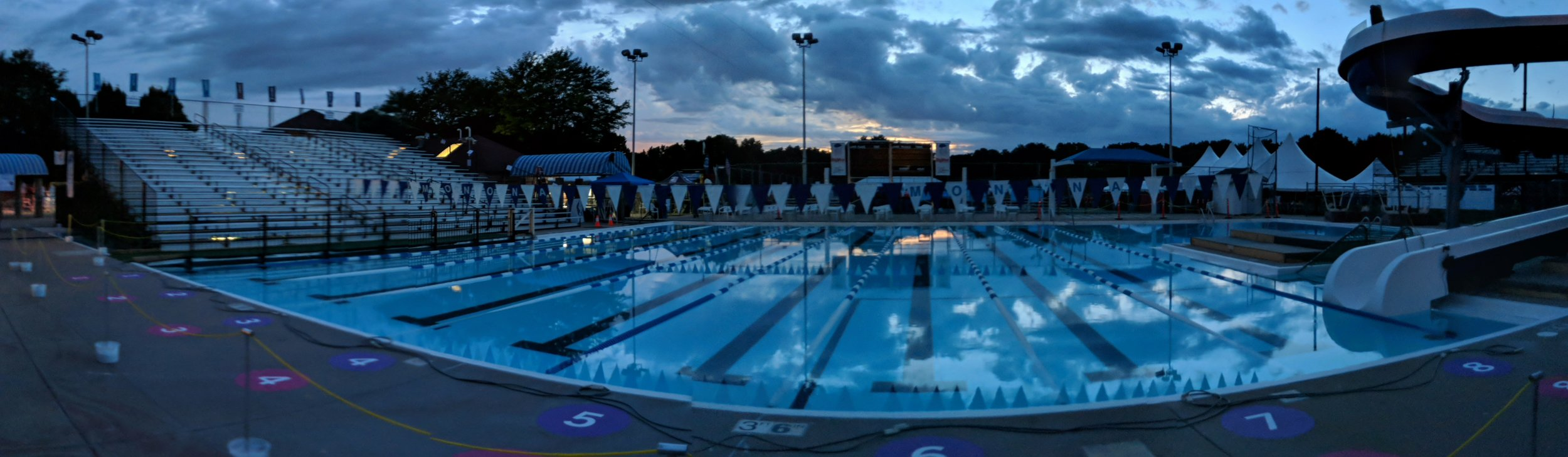 Monona pool transformed for All City 2018