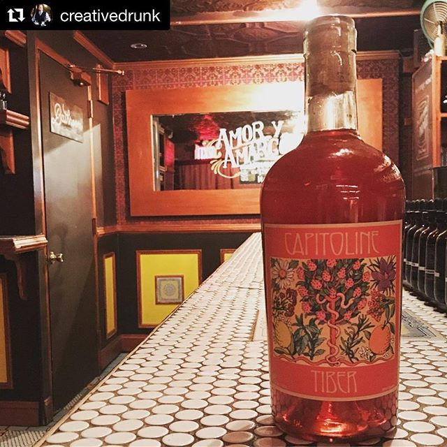 We couldn't be more excited about our New York launch event next week at @amoryamargo with the incomparable @creativedrunk! It's an incredible honor to be poured at such a special place ♥️ #bitterisbetter #Repost @creativedrunk with @get_repost ・・・ I'm proud to announce that I'm hosting the New York City launch of this delicious domestic amaro next week!  Inspired by the long tradition of Italian liqueurs, and named after Rome's great river and DC's own buried and forgotten creek, Capitoline Tiber is a bracing blend of citrus, spice, fresh ginger, and bitter. Tiber offers a length and complexity ideal for a simple spritz or heartier cocktails like a Negroni or Boulevardier. Made naturally by hand in small batches in Washington DC. #AmaroSpotlight #iHeartBitters