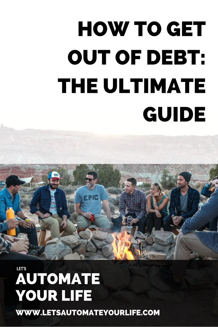 How to get out of debt.