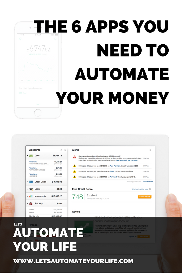 The 6 Apps You Need to Automate Your Money