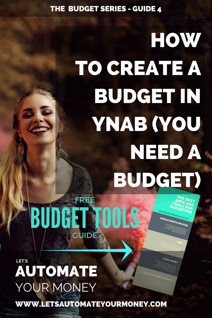 How to Create a Budget in YNAB (You Need a Budget)