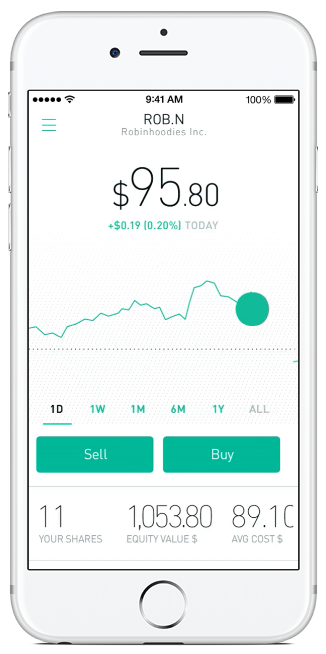 Robinhood Screenshot